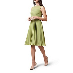 Hobbs - Lime 'Adriana' dress