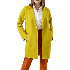 Hobbs - Yellow 'Ada' coat