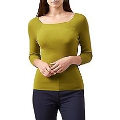 Hobbs - Yellow 'Sophia' sweater