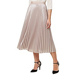 Hobbs - Light gold 'Jade' skirt
