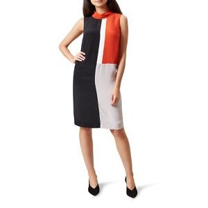Hobbs Multicoloured 'Claribel' cowl neck shift dress