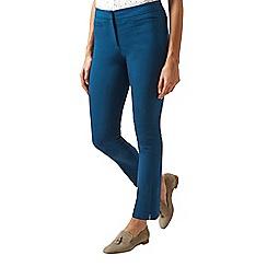 Hobbs - Dark turquoise 'Annie' trousers