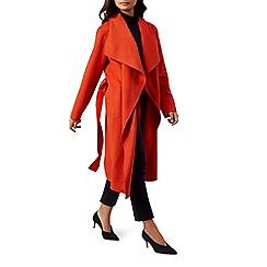 Hobbs - Orange 'Odelia' coat