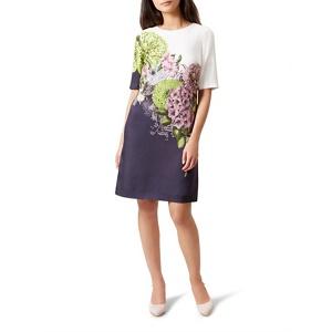 Hobbs Multicoloured floral print 'Cheryl' shift dress