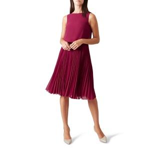 Hobbs Pink 'Tabitha' knee length dress