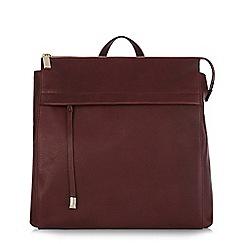 Hobbs - Maroon 'Hoxton' rucksack