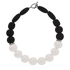 Hobbs - Black 'Octavia' necklace