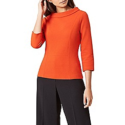 Hobbs - Orange 'Cordelia' top