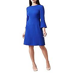 Hobbs - Bright blue 'Cassie' dress