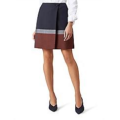 Hobbs - Navy 'Simone' skirt