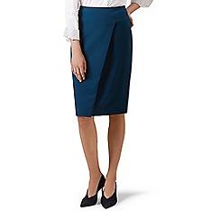 Hobbs - Dark Turquoise 'Mylene' skirt