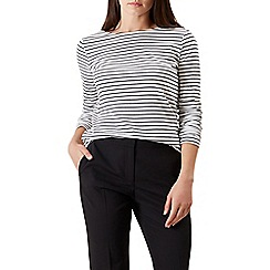 Hobbs - Multicoloured 'Summer breton' top