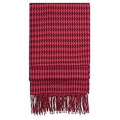 Hobbs - Dark pink 'Claudia' scarf