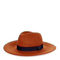 Hobbs - Red brick 'Phoebe' hat