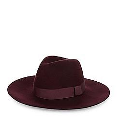Hobbs - Maroon 'Phoebe' hat