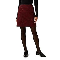 Hobbs - Dark red 'florrie' skirt