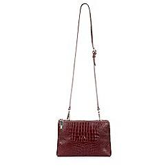 Hobbs - Maroon 'bloomsbury' crossbody bag