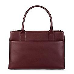 Hobbs - Maroon 'bloomsbury' workbag