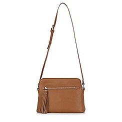 Hobbs - Tan 'Helmsley' satchel