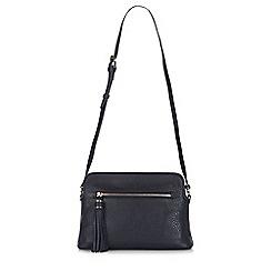 Hobbs - Navy 'Helmsley' satchel