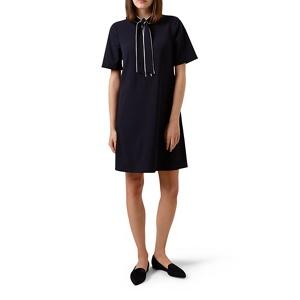 Hobbs Blue 'Sarah' knee length shift dress
