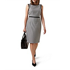 Hobbs - Grey 'Sian' knee length pencil dress