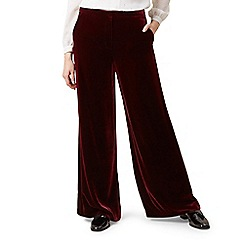 Hobbs - Maroon 'Elva' trousers