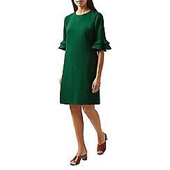 Hobbs - Green 'Frances' knee length shift dress