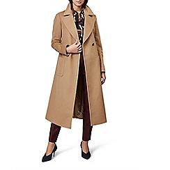 Hobbs - Camel 'Kali' coat
