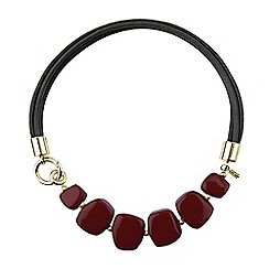 Hobbs - Maroon 'Naomi' necklace