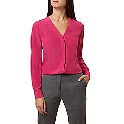 Hobbs - Pink 'Lona' blouse