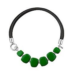 Hobbs - Bright green 'Naomi' necklace