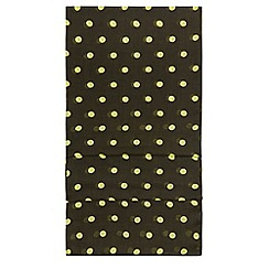 Hobbs - Green 'Lisa spot' scarf