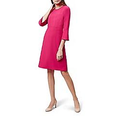 Hobbs - Pink 'Cassie' knee length dress