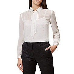Hobbs - Ivory 'Sally' blouse