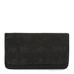 Hobbs - Black 'Windsor' clutch