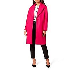 Hobbs - Bright pink 'Daisy' coat