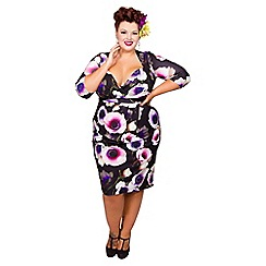 Scarlett & Jo - Peony plus size bodycon dress