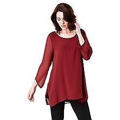 Celuu - Red 'Juliet' blouse