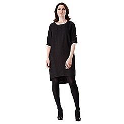 Celuu - Black 'Holly' gem sleeve dress