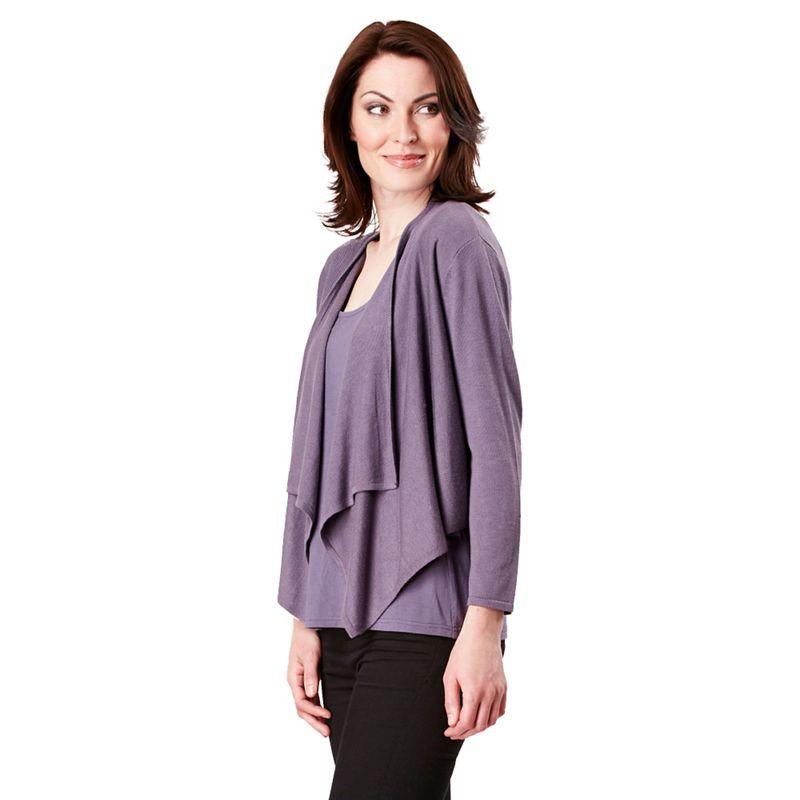 Celuu Lilac (Purple) amanda Shrug, Womens