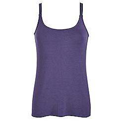Celuu - Lilac 'Rachel' jersey vest