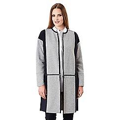 Celuu - Grey 'Jade' knitted coatigan