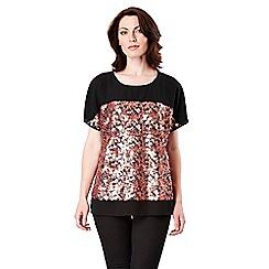 Celuu - Pink 'Izzy' sequin blouse