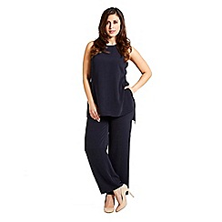 Celuu - Navy 'Gwen' wide leg jumpsuit