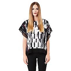 Celuu - Multicoloured 'Adriana' square blouse