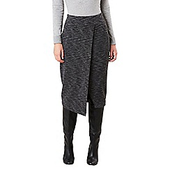 Celuu - Grey 'Mable' tulip wrap skirt