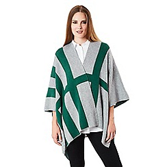 Celuu - Multicoloured 'Adelaide' poncho