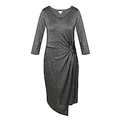 Celuu - Grey 'Marina' twist dress
