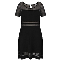 Celuu - Black 'Candice' beaded dress